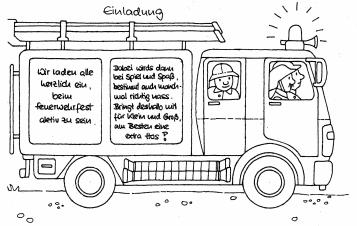 freiwillige feuerwehr esslingen a.n. - abteilung berkheim, Einladungen